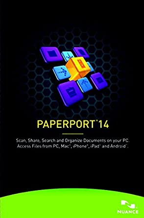 Kofax Paperport 14.0 Professional [PC Download]