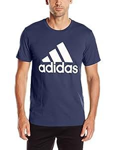adidas Men's Big & Tall Badge Of Sport Classic Tee Collegiate Navy/White T-Shirt