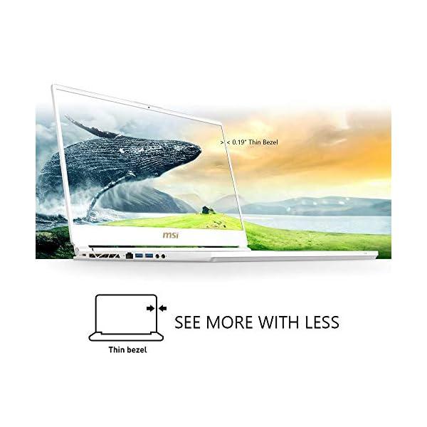 """MSI GS65 Stealth-002 15.6"""" Razor Thin Bezel Gaming Laptop NVIDIA RTX 2070 8G Max-Q, 144Hz 7ms, Intel i7-8750H (6 cores), 32GB, 512GB NVMe SSD, TB3, Per Key RGB, Win 10, Matte Black w/ Gold Diamond cut 2"""