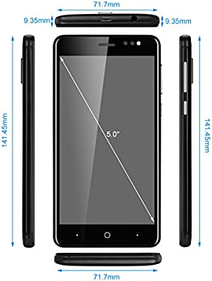 Bluboo D1-3G Smartphone Libre (Android 7.0, 5.0