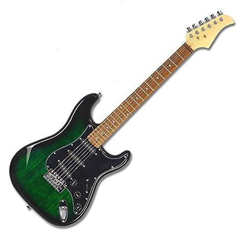 HKHJN HKHJN - Guitarra eléctrica con 6 cuerdas (99 cm), diseño de ...