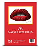 Art-n-Fly 60 Sheets 9 x 12 Marker Paper Markers Drawing Marker Sketchpad Sketching Marker Pad