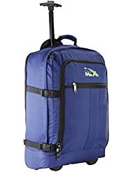Cabin Max Lyon Flight Approved Bag Wheeled Carry On Luggage - Backpack 21 X 14 X 9