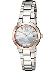 Citizen Womens Eco-Drive Watch with Date, EW1676-52D