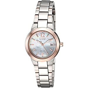 Citizen Women's Eco-Drive Watch with Date, EW1676-52D