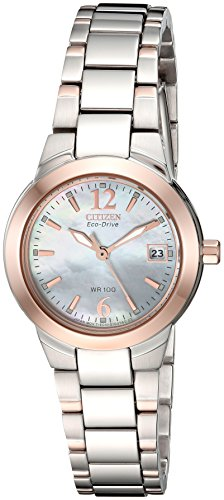 - Citizen Women's Eco-Drive Watch with Date, EW1676-52D