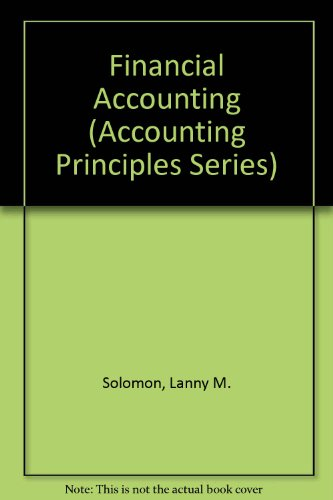 Financial Acct: The Foundation F/Bus Succ (Accounting Principles Series)