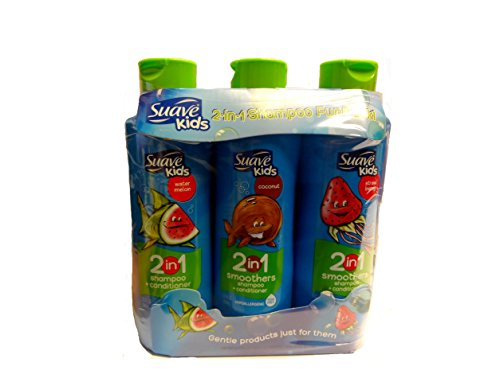 Suave Kids Shampoo + Conditioner-3 x 22.5 oz. - Variety