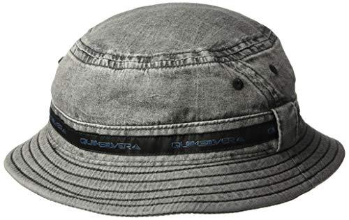 Quiksilver Men's Tail Block HAT, Black, L/XL (Hat Blocks)