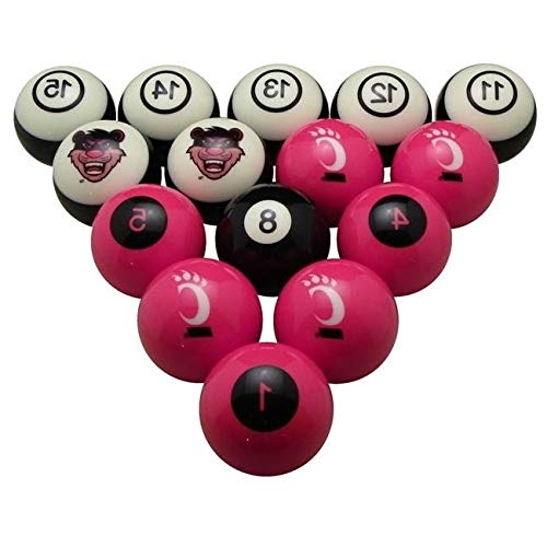 Aromzen University of Cincinnati Billiard Numbered Ball Set (Ball Set Billiard Cincinnati)