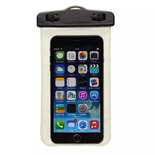 Yaobai- Waterproof Bag/Case for iPhone, iPod, Kindle,Samsung G360 G530 G357 A7 A5 A3 Note 4 ,HTC One M9,Nokia N630 N530 N930,LG G2 G3,Sony Z2 Z3 Z4 M2 and Touch Screen phone Under 6 inch (5 M profonde