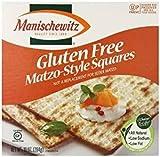 Manischewitz Gluten Free Matzo Style Squires Kosher For Passover 10 oz. Pack of 3.
