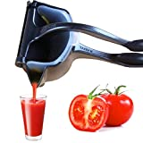 Top Rated Sturdy Aluminum Citrus Juicer - Never Fade, CHEE MONG Retro Style Manual Grapefruits Lime Lemon Squeezer - Less Foam, TEFLON Design Same As Rice Cooker Liner (Recommend Hand Wash)