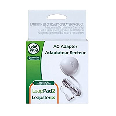 LeapFrog AC Adapter (Works with all LeapPad2 and LeapPad1 Tablets, LeapsterGS Explorer, Leapster Explorer and  Leapster2): Toys & Games