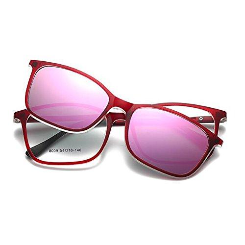 polarizadas Gafas Antideslumbrante Glasses 2 TP Lentes Sol Color 5 de Motion HD Driving Moda Polarizer adSw1
