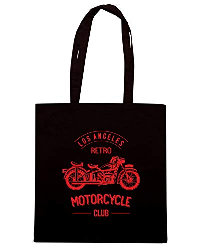 CLUB BIKE Nera Borsa MONOCHROME RETRO TB0398 Speed Shopper Shirt OLD zYW0Sqf