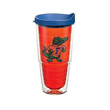 Tervis 1060936 Florida University Albert Emblem Individual Tumbler with Blue lid, 24 oz, Citrine