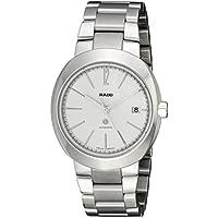 Rado D-Star Analog Display Swiss Automatic Silver Men's Watch (Silver)