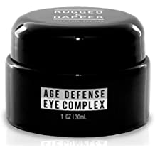 RUGGED & DAPPER - Eye Cream for Men - 1 oz - Powerful Anti Aging Gel Complex - Combats Wrinkles, Dark Circles & Visible Fatigue - Advanced Natural & Organic Ingredients Revives & Defends Entire Face