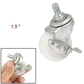 eDealMax a11052000ux0385 roscado de las ruedas giratorias Para trabajos ligeros Con rosca giratoria DE 1,