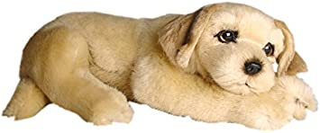 Piutrè 2209 Plüsch Golden Retriever welpe liegend Kopf