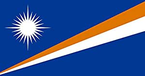 magFlags XXXS Flag Marshall Islands | landscape flag | 0.135m² | 1.5sqft | 30x45cm | 1x1.5foot - 100% Made in Germany - long lasting outdoor flag