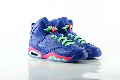 Nike Air Jordan 6 Retro GG, Zapatillas de Running para Niñas Purple