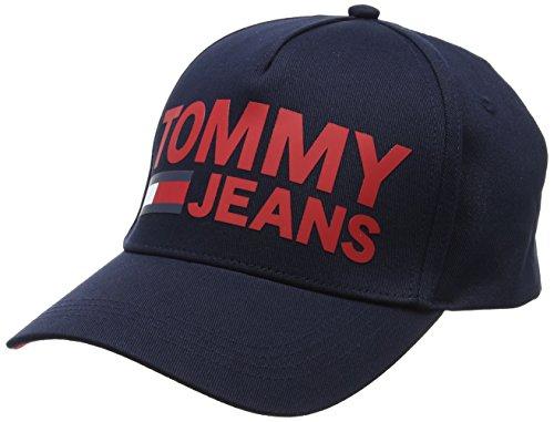 Béisbol Unisex Navy Azul de Tommy Tju 413 M Cap Jeans Printed Tommy Gorra BB Adulto WwzwR8qOZ