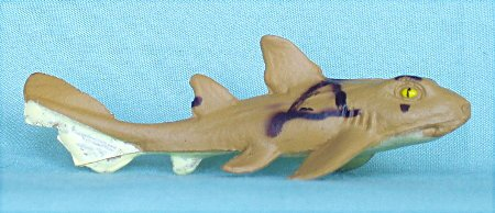 Collectible Wildlife Gifts Horn Shark 3-inch Plastic - F228 -