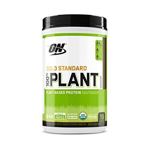 Optimum Nutrition Gold Standard 100% Plant Based Protein Powder, Vitamin C for Immune Support, Chocolate, 1.59 Pound…