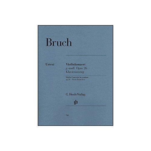 G. Henle Verlag Violin Concerto in G Minor Op. 26 By Bruch (Bruch Violin Concerto In G Minor Sheet Music)