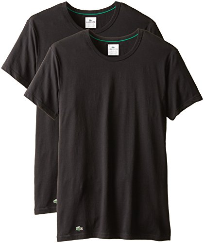 lacoste-mens-2-pack-colours-cotton-stretch-crew-t-shirt-black-medium