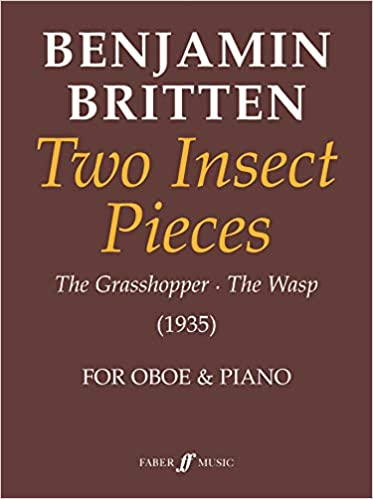 Two Insect Pieces The Grasshopper//The Wasp 1935 for oboe and piano