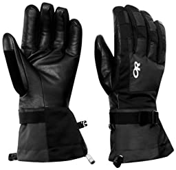 Outdoor Research Men\'s Revolution Gloves, Black, X-Large