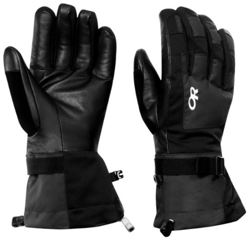 Outdoor Research Men's Revolution Gloves, Black, X-Large (Best Gloves For Warmth Uk)