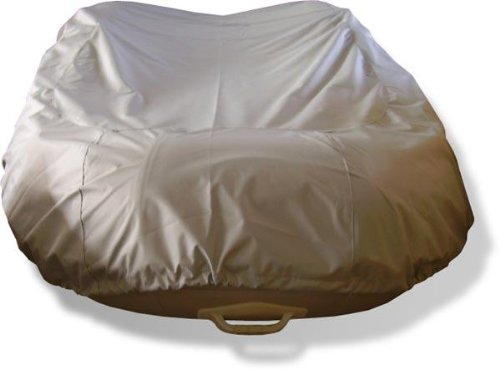 (NEW GREY 14' VORTEX INFLATABLE BOAT DINGY DINGHY COVER/600D, FITS UP TO 14' LONG, 6 1/2' WIDE, 20