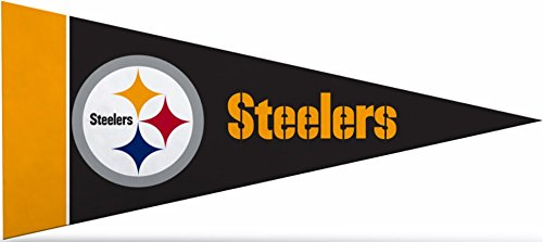 Zipperstop Official Licensed Pittsburgh Steelers NFL Mini Pennant, 4