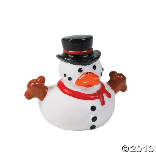 Snowman Rubber Ducky Duckies Ducks - 12 -