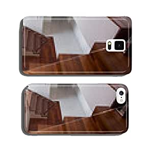Wooden staircase in exclusive house cell phone cover case iPhone5