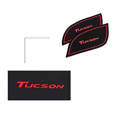 18 Unidades Color Blanco LFOTPP Tucson Juego de Alfombrillas Antideslizantes para portavasos