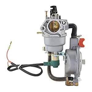 Carburador para HONDA GX390 188F 190F generador de gas, carburador ...