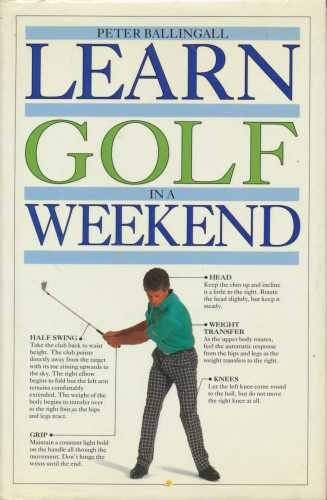 Learn Golf in a Weekend (Learn in a weekend) (English and Spanish Edition) by DK