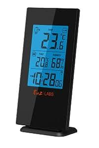Labs LABS BL502 - Estación meteorológica para humedad interior y temperatura exterior, color negro