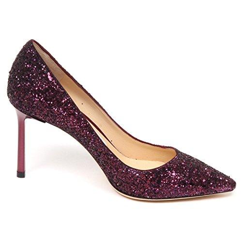 Glitter Vinaccia Choo Donna Shoe Wine Jimmy E6558 Scarpe Decollete Romy Woman qFwgxA1n