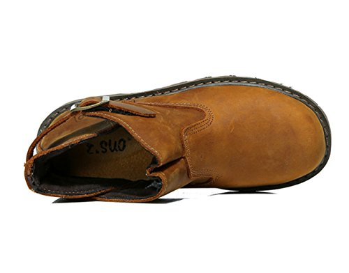 Horse Crazy Strap Boots Camel Men's Insun Work Leather E1wZ5Bq