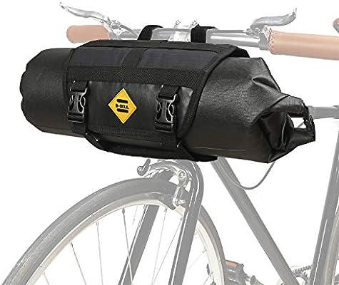 JUNPENG - Bolsa para Manillar de Bicicleta, 100% Impermeable, para ...