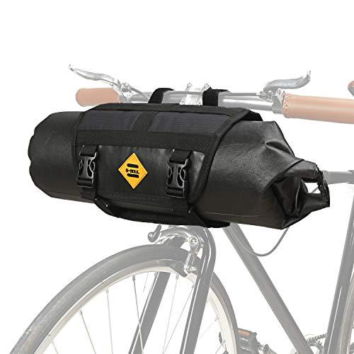 JUNPENG Bike Bags Handlebar Bag 100% Waterproof Bikepacking Mountain Road MTB Top Tube Accessories Quick Release Frame Bags Basket 3L-7L