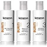 Brazilian Keratin Treatment Complex Blowout KERAZON kit 2oz/60ml - Tratamiento de Keratina Queratina Brasileña para…