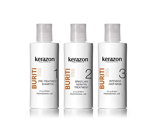 - Brazilian Keratin Treatment Complex Blowout KERAZON kit 2oz/60ml Queratina