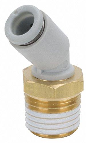 Male Pipe 45 Deg Elbow - Male Elbow, 45 Deg, 16mm, TubexMale BSPT